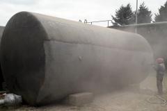 Czyszczenie - piaskowanie zbiorników