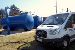 Projekt, modernizację i  remont wykonała Firma TERLAN z Grupy Aquanet.